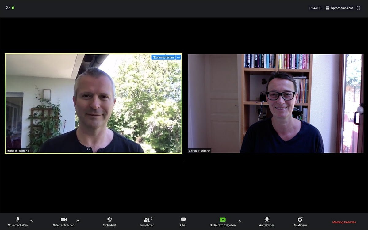Designers-Blog - designplus Video Konferenz Corona-Krise Designers-Blog
