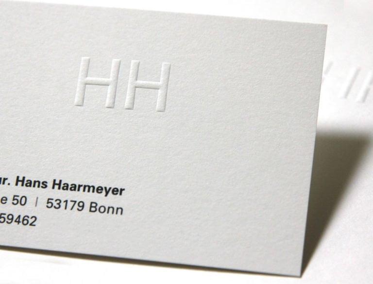 designplus Referenz: Prof. Hans Haarmeyer