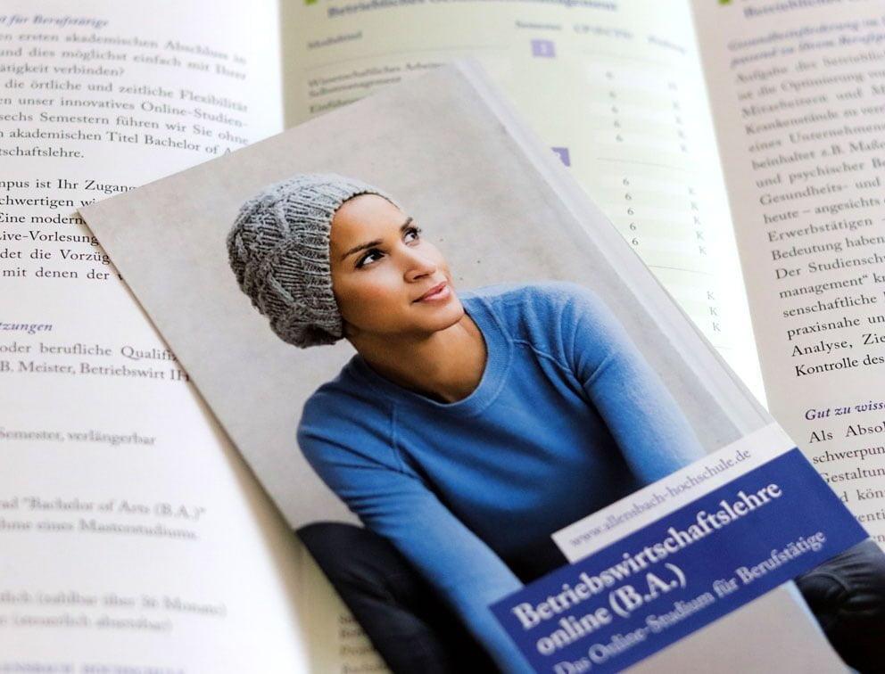Grafik-Design Werbemittel Referenz Allensbach Hochschule Konstanz