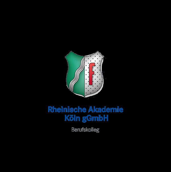 """Kunden und Branchen Logo designplus """"Rheinische Akademie Köln"""""""