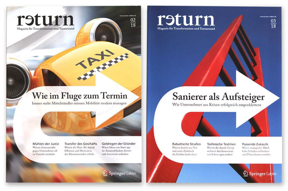 designplus Referenz: Magazin return