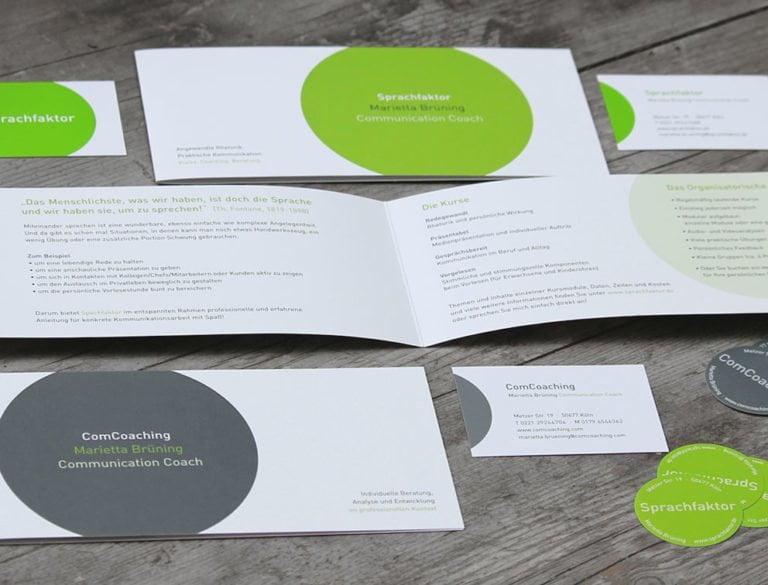 designplus Referenz: Sprachfaktor Consulting