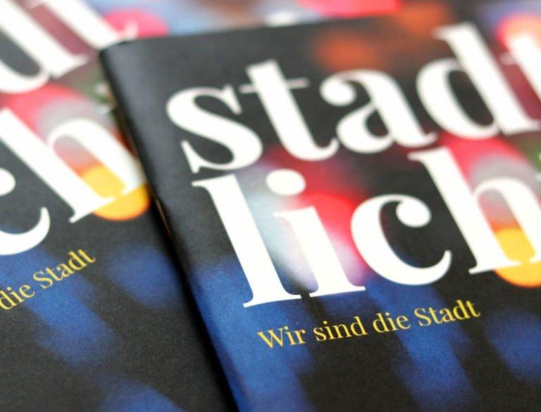 designplus Referenz: Stadtlichter Mitarbeitermagazin