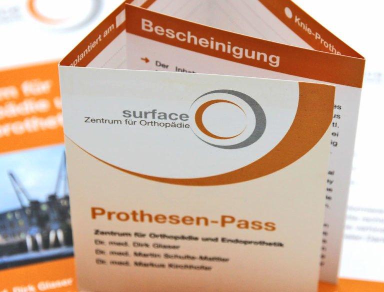 designplus Referenz: surface Zentrum für Orthopädie