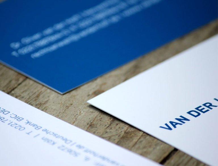 designplus Referenz: Van der Hoff Rechtsanwalt