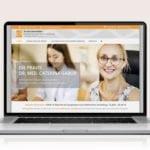Webdesign designplus Köln Referenz - Responsive Website für die Onkologische Praxis Dr. Gabor Köln-Mühlheim