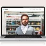 Webdesign designplus Köln Referenz - Responsive Website für IB-Zukunftsagentur Köln auf CMS Wordpress