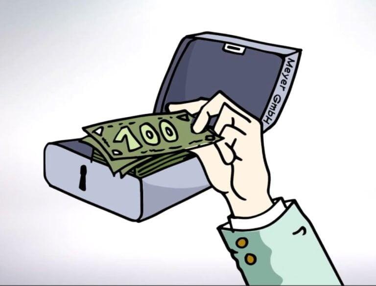 Illustration und Animation eines Erklärfilms