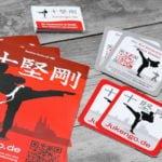 Grafik-Design Werbemittel Referenz Mitgliedergewinnung Jukengo Karateverein Köln