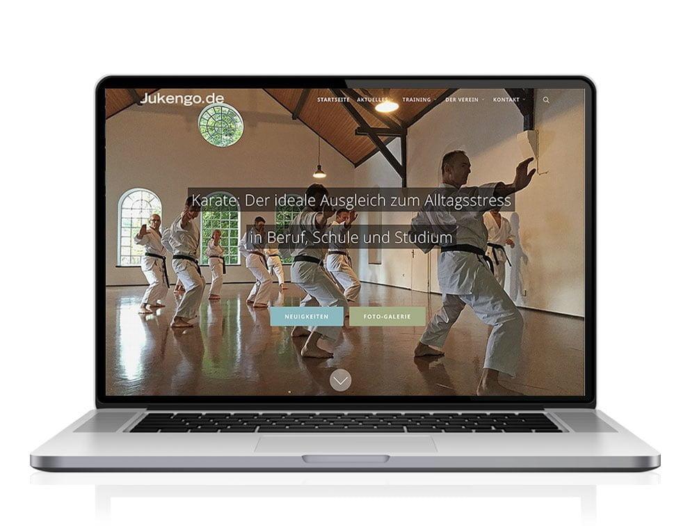 Responsive Website für den Ju Kengo e.V. Köln