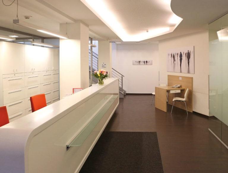 Fotografie und Bildbearbeitung Referenzprojekt designplus, Köln für MVZ Onkologie Köln