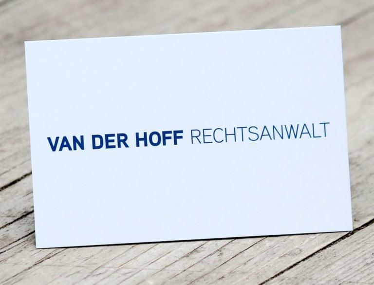 Rechtsanwalt Van der Hoff
