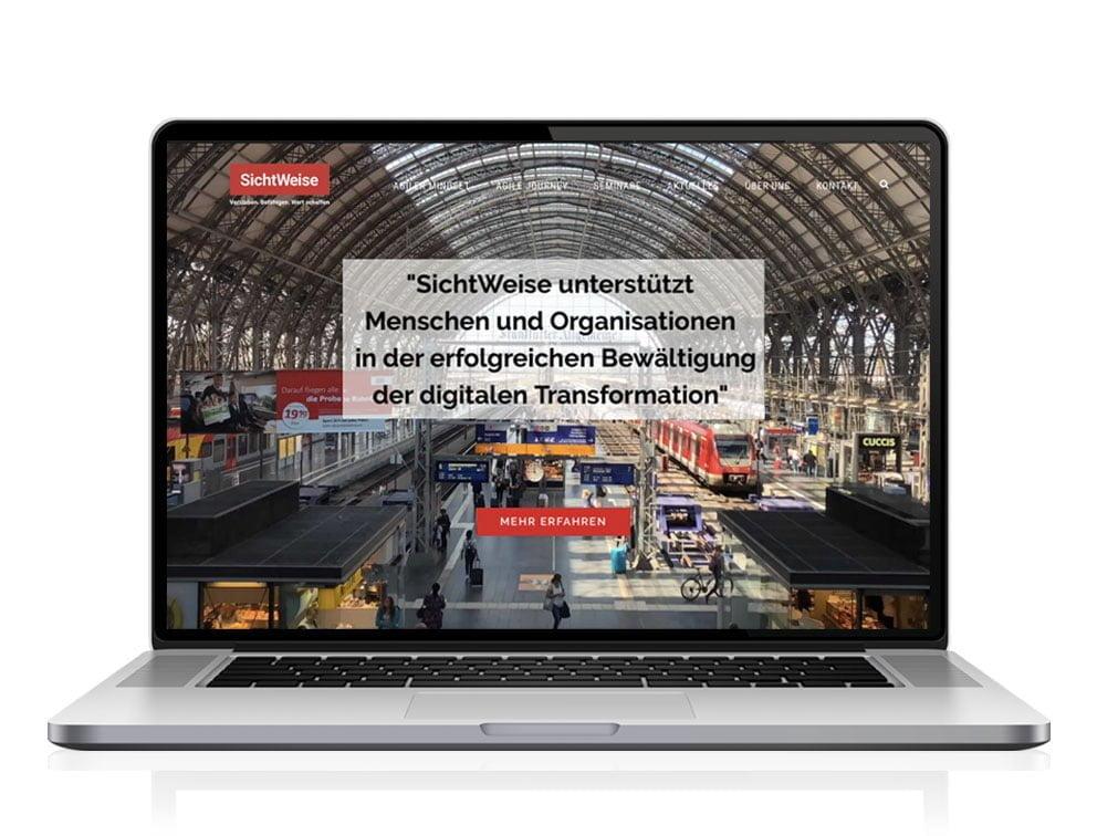 Responsive Website für SichtWeise Consulting Köln