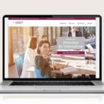 Webdesign designplus Köln Referenz - Responsive Website für den Online-Test Unternehmer Stresstest vom DIAI