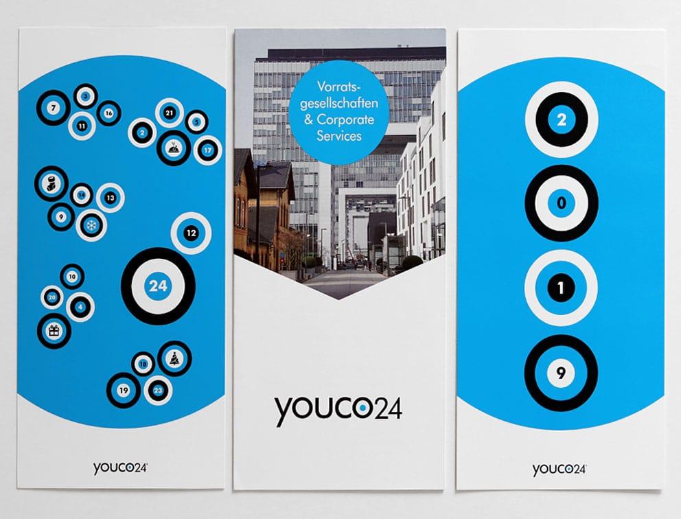 Print Grafik-Design Referenz youco24 Geschäftsausstattung Logodesign